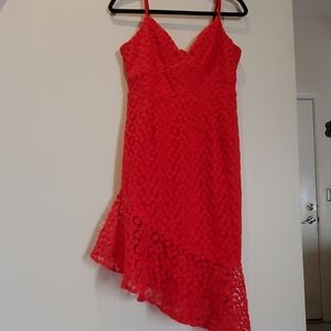 Nasty Gal red dress, new with tags!